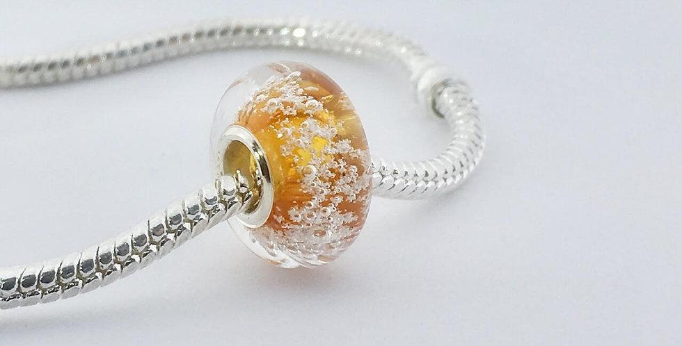 Amber Classic Pandora Style Bead