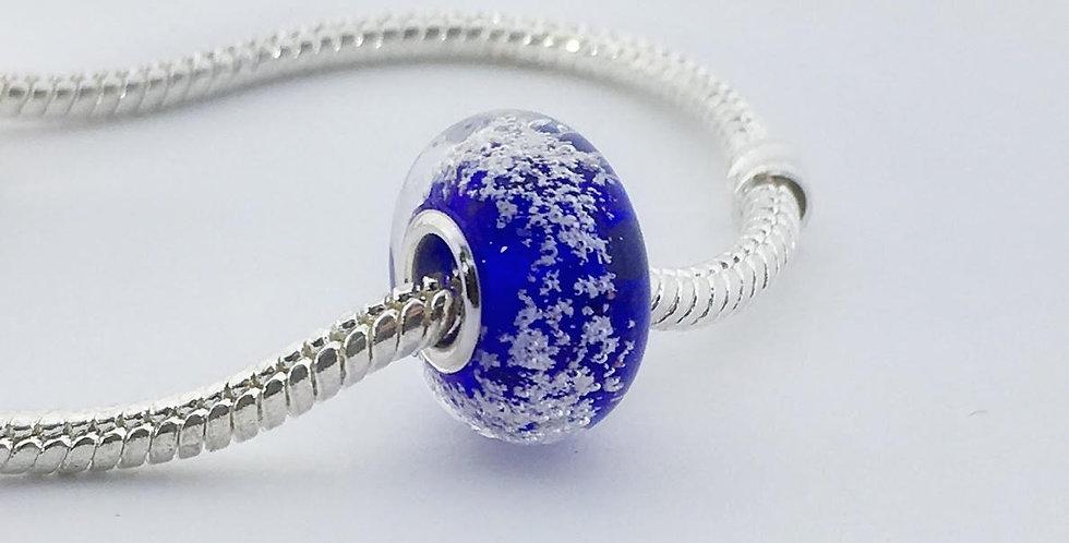 Cobalt Classic Pandora Style Bead