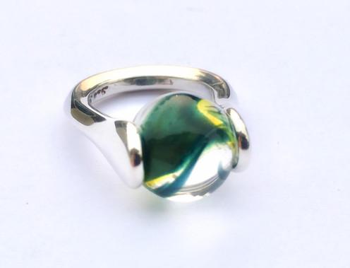 Stardust Lotus Ring