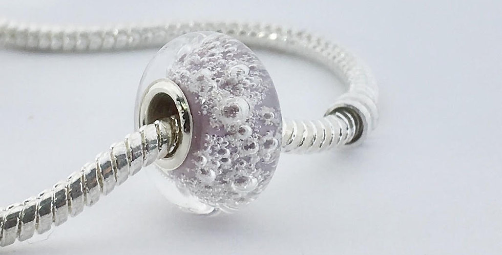 Mauve Classic Pandora Style Bead