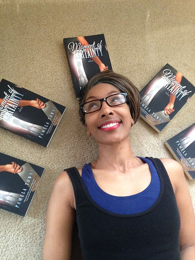 me and my books surrounding me.JPG