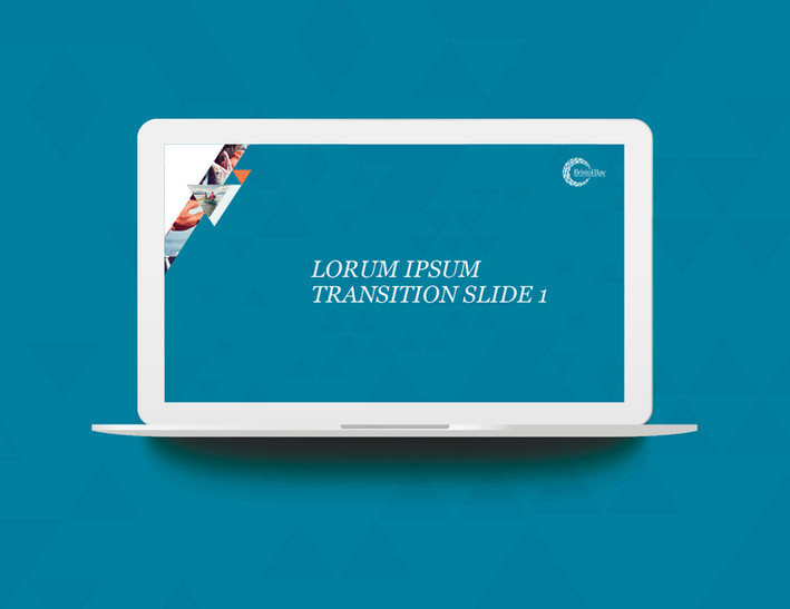 Presentation Transition Slide