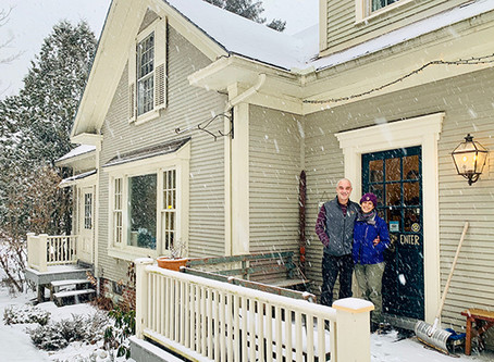 New Featherbed Inn owners love winter