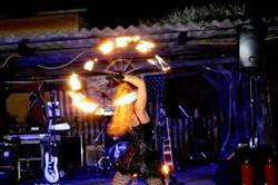 Feuershow buchen