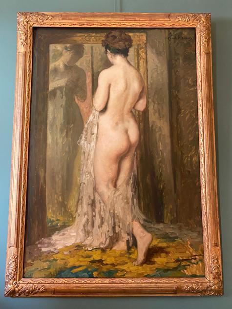 Nu devant le miroir - Emile Baes (1879-1954)