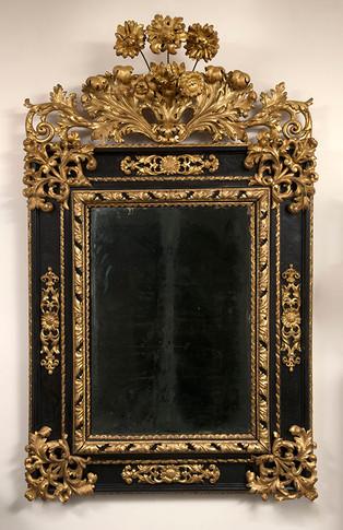 Miroir, Italie fin XVIIe siècle
