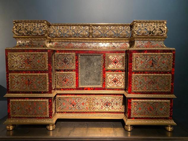 Cabinet en marquèterie Boulle. France ou Angleterre époque début XIXème