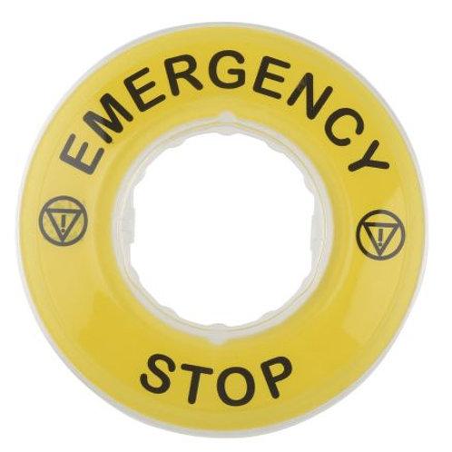 Emergency Stop Disc