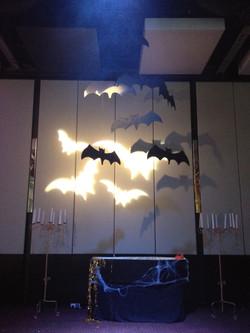 bats halloween Event room sets