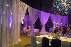 Draped Chill out area theme