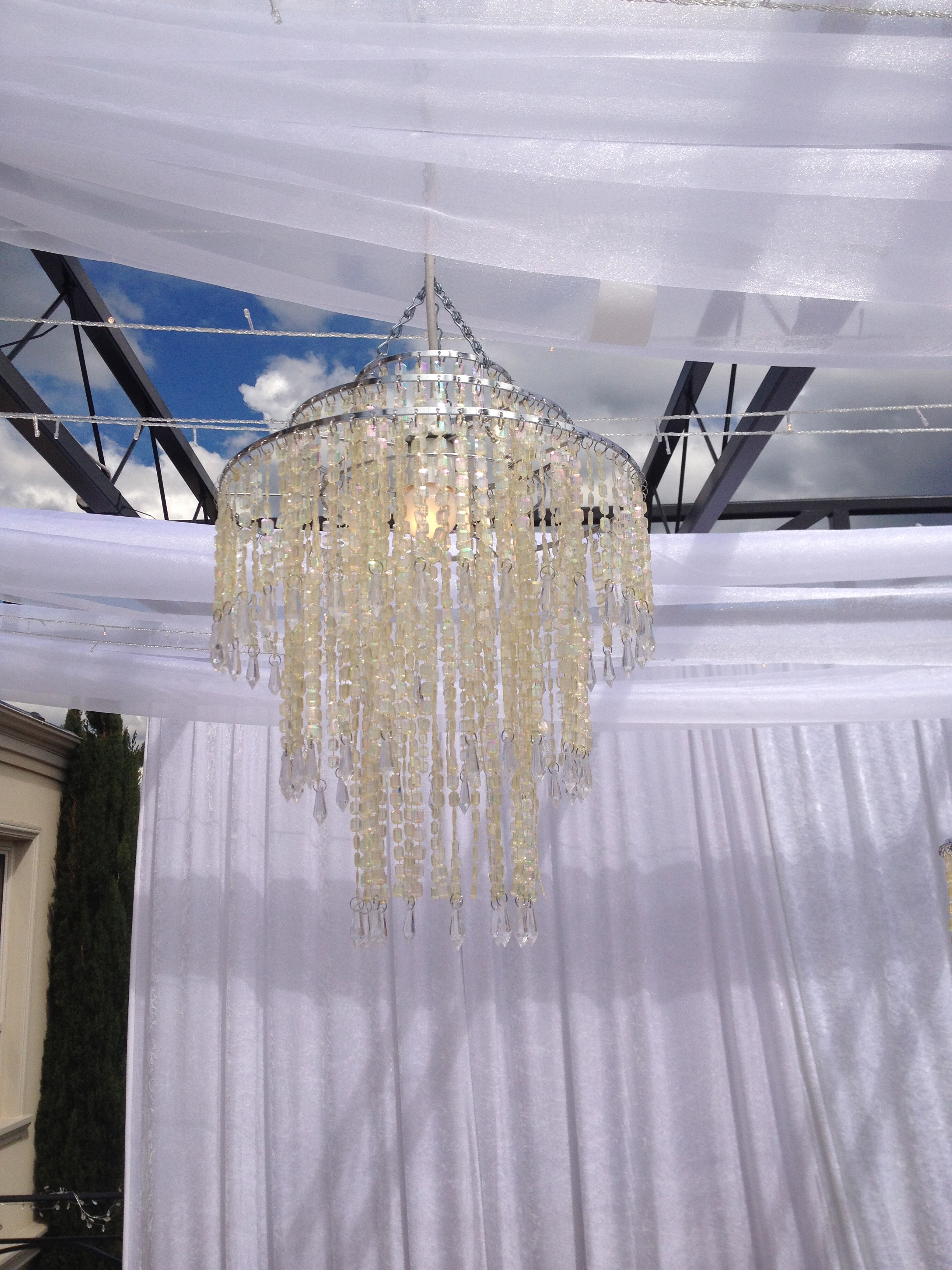 chandalier for wedding Gold Coast
