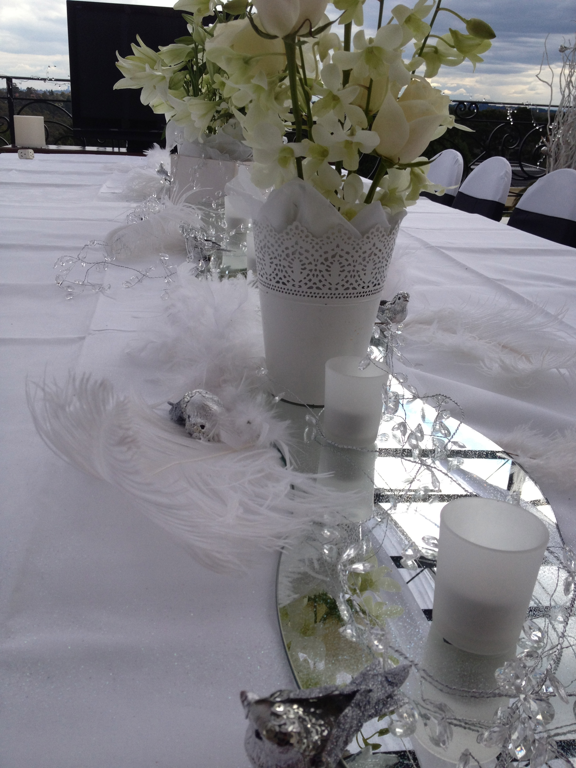 tableflowers for wedding Gold Coast