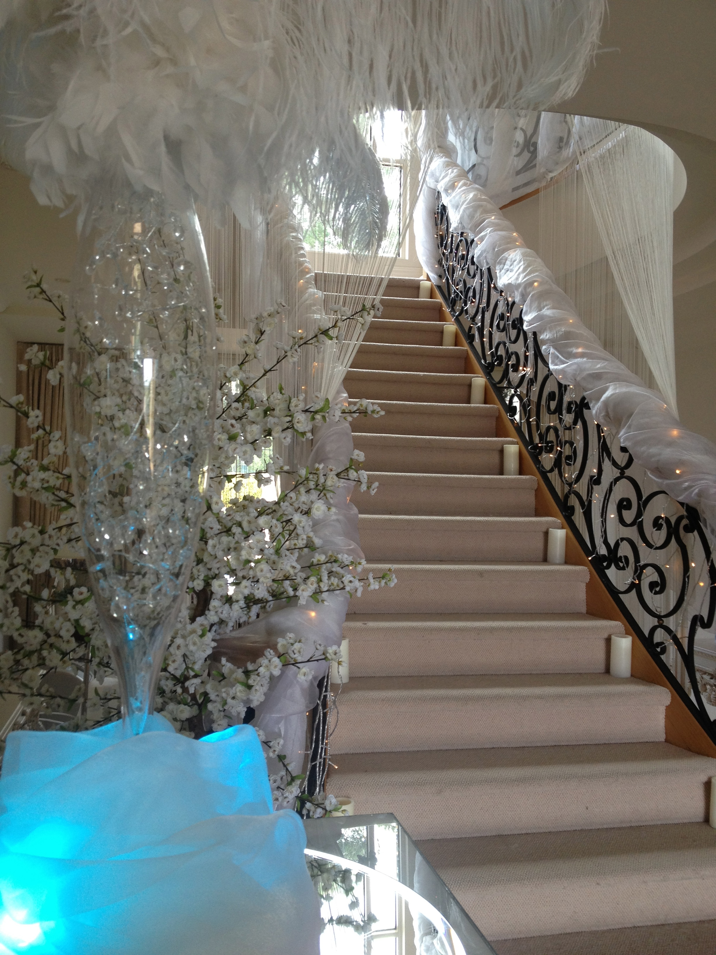 Wedding Stair Cases