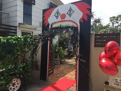 Scary Clown Entrance