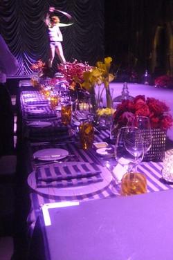 Gala Dinner Centerpieces