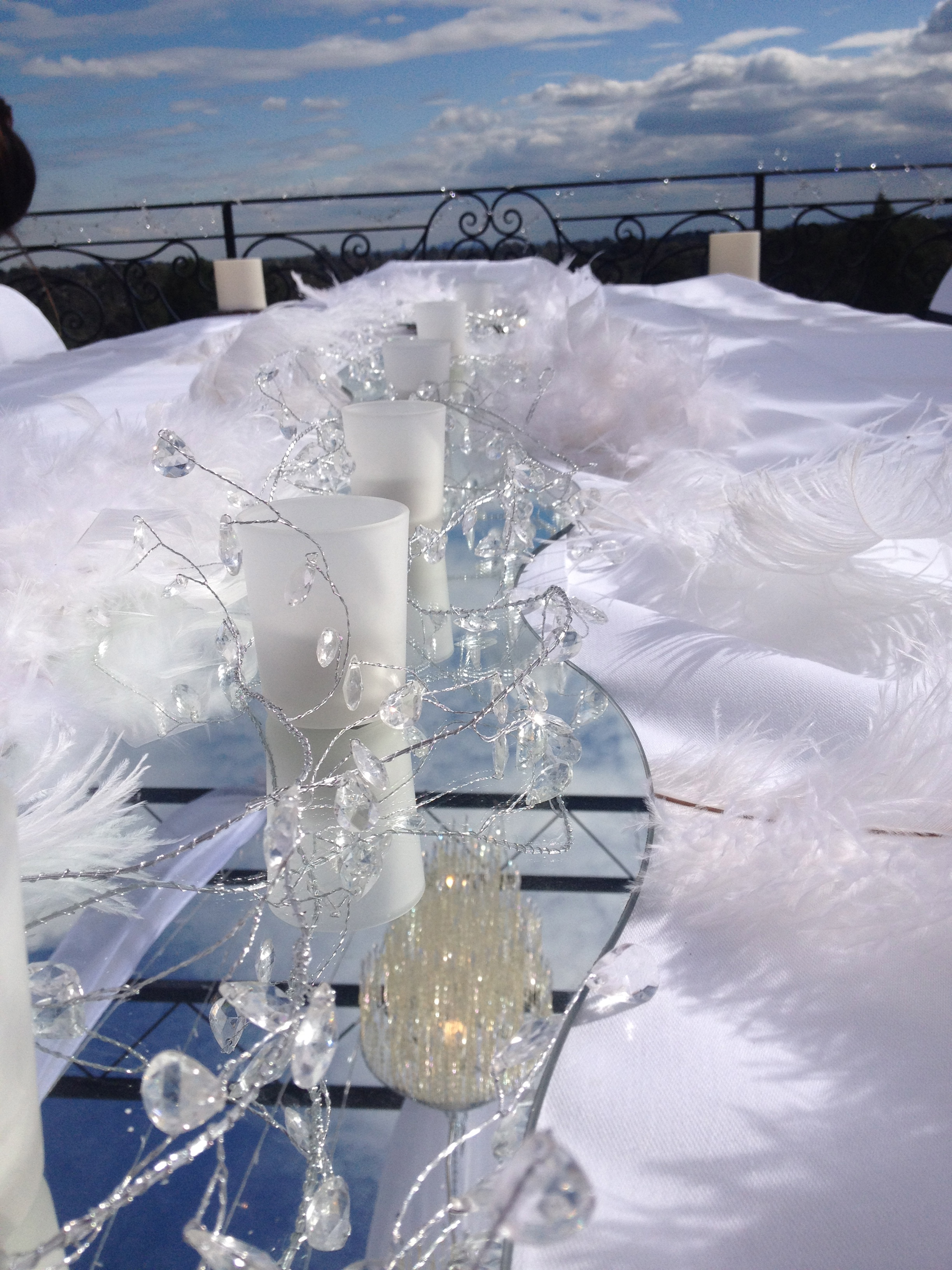 centre piece for wedding Gold Coast