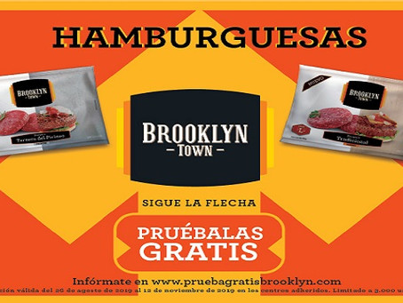 Brooklyn Town lanza su nueva campaña de hamburguesas ultracongeladas