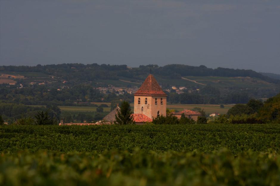 Clocher de Saint-Vincent de Pertignas