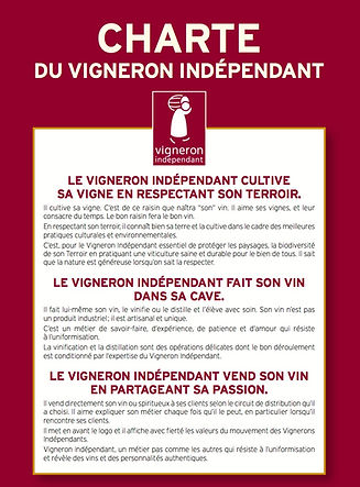 Charte du vigneron indépendant