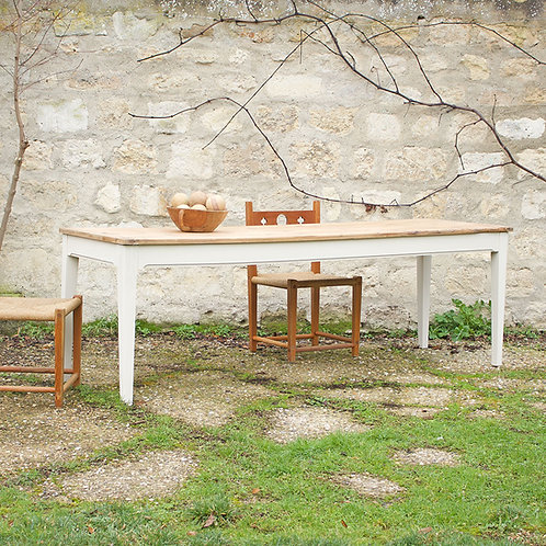 Table de ferme 220x70