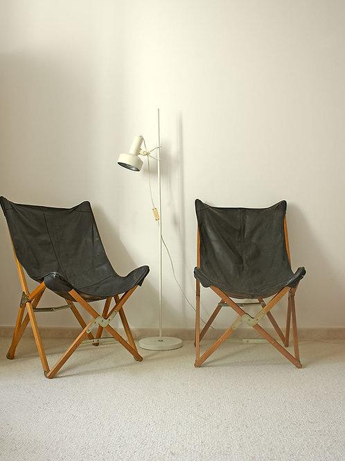 Paire de fauteuils Tripolina