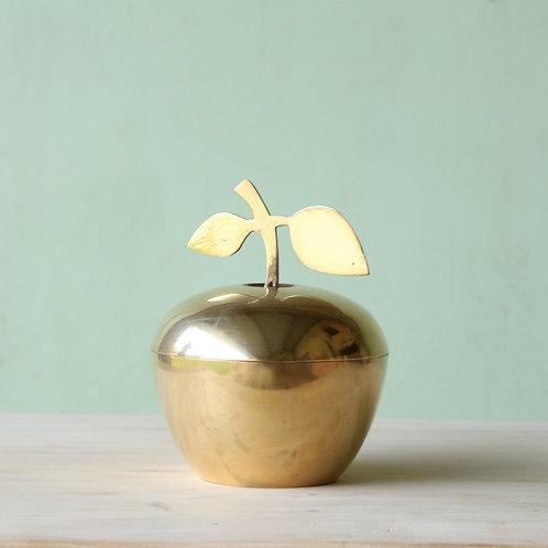 Vide poche pomme en laiton