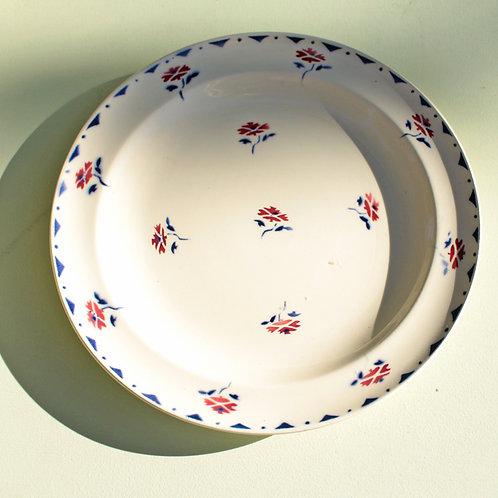 Set de 12 assiettes porcelaine creuse et plates