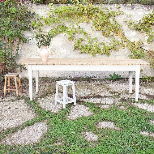 Table de réfectoire 244cm x 74cm