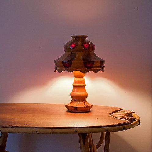 Lampe de table par Carlos Zipperer circa 1920