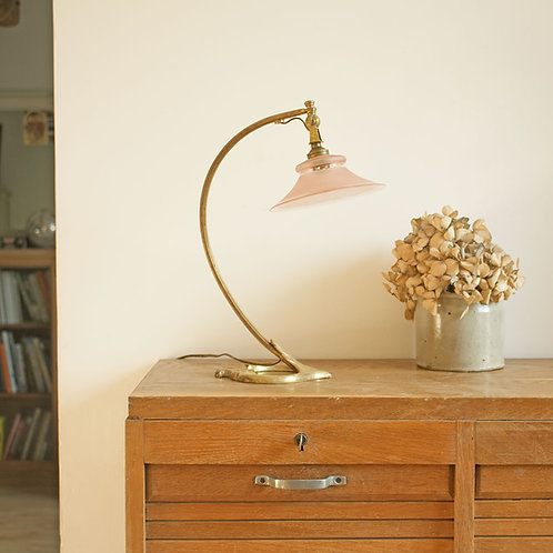 Lampe orientable en bronze par Auguste Delafontaine - fin XIXème