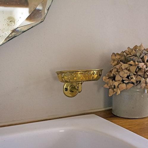Ancien porte savon laiton