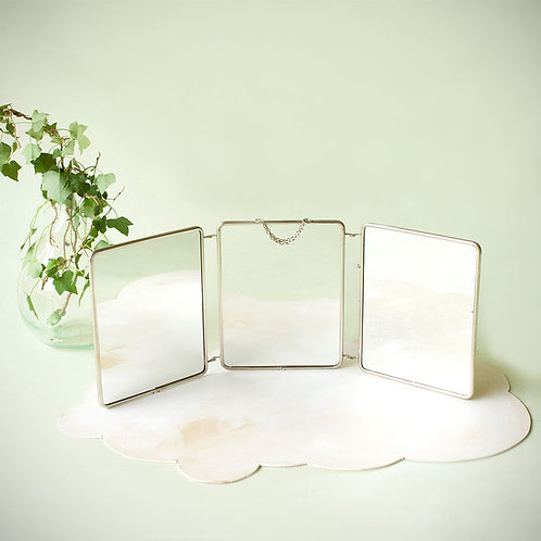 Miroir triptyque 21X68