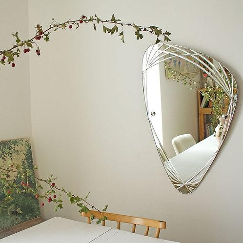 Miroir gravé