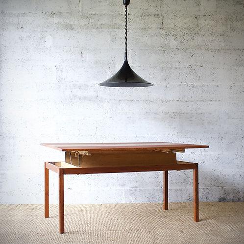 Table ajustable design suédois pour Emmaboda Møbelfabrik, 1957