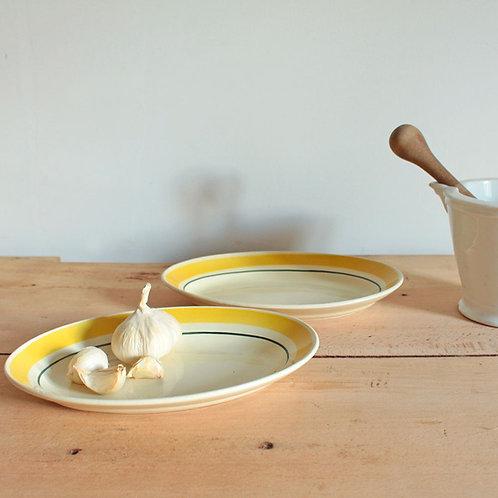 2 raviers porcelaine de Gien