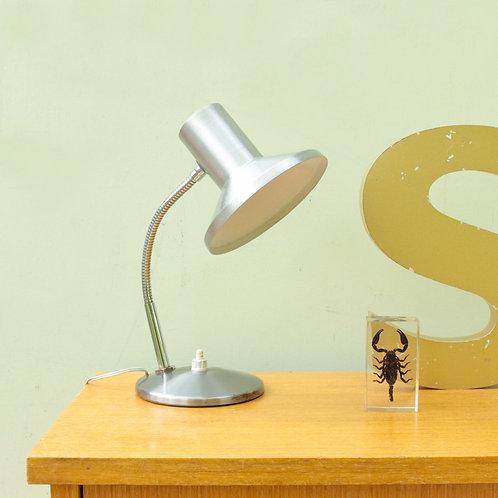 Petite lampe de bureau flexible années 60