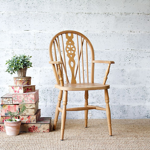 Chaise vintage style ercol