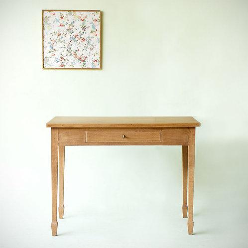 Petite table ou bureau bois clair