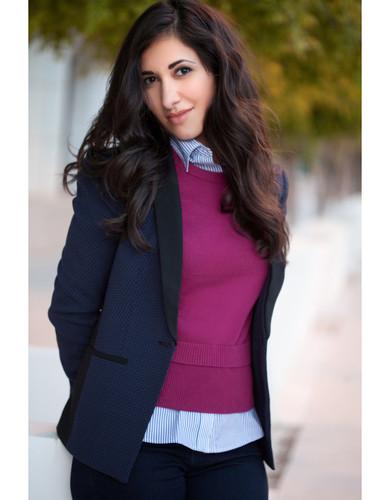 Lisa Acquafredda Lifestyle Pink Jacket.j