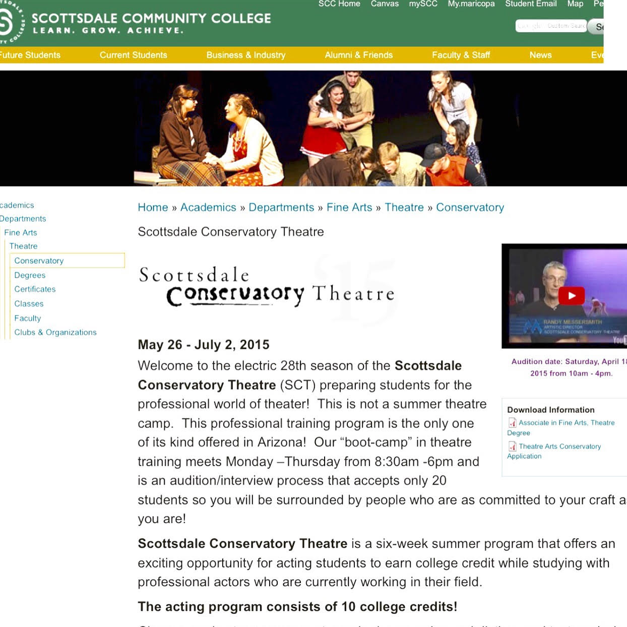Scottsdale Conservatory Theatre