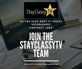 StayClassyTV Job Posting.png