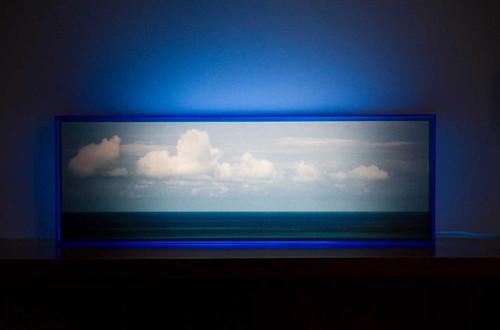 Lightbox Horizonte Azul