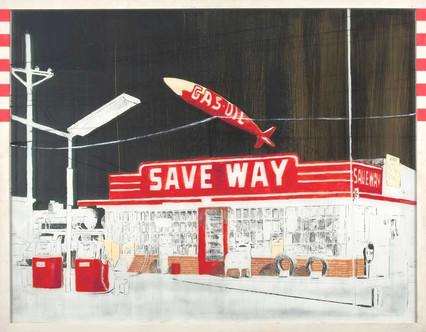 Um Viva para as lojas de posto de gasolina