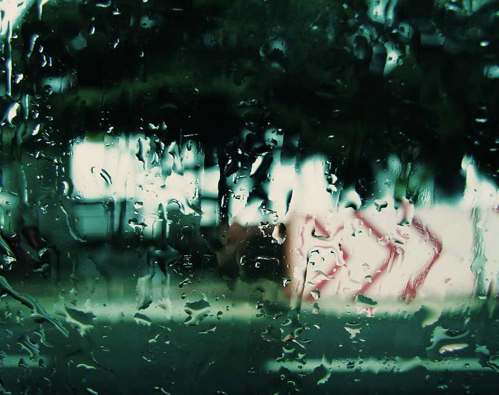 Chuva e placa