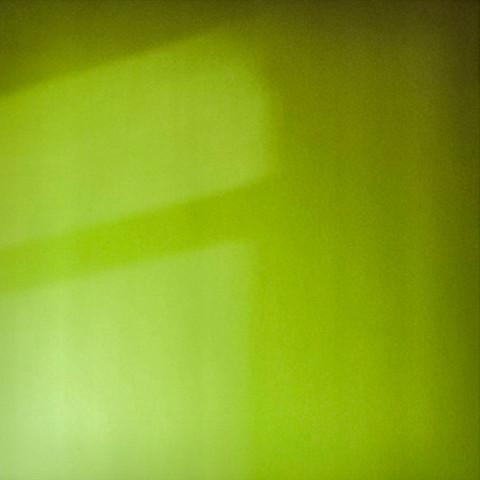 Sombra sobre verde