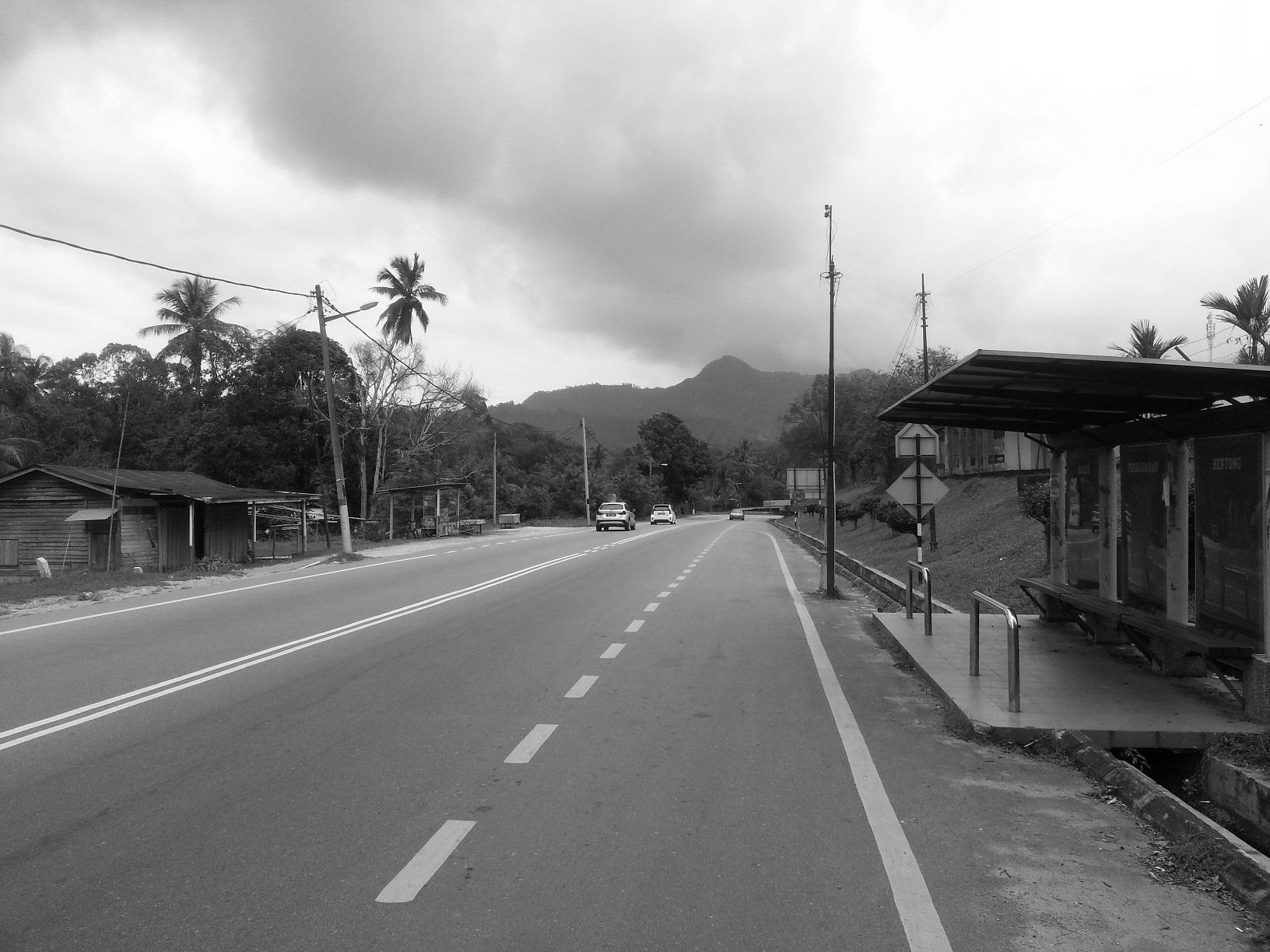 K.L. road heading towards Bentong