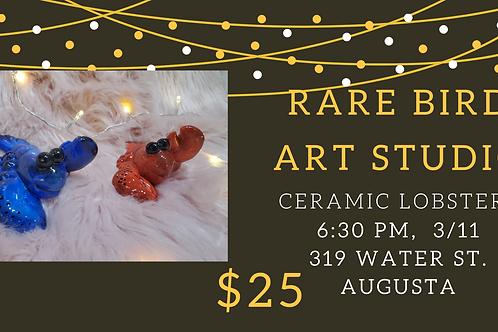 3/11 - Ceramic Lobsters