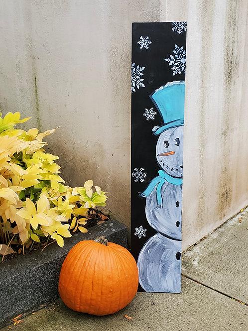11/5 - Snowman Porch Leaner