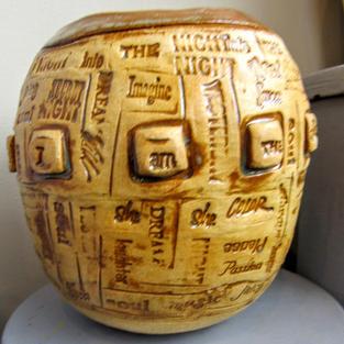 Stamped Vessel/Vase