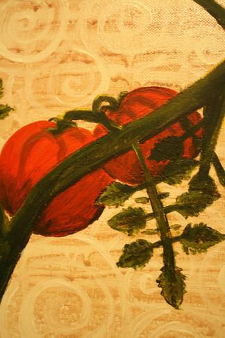 Tomatoes and Swirls